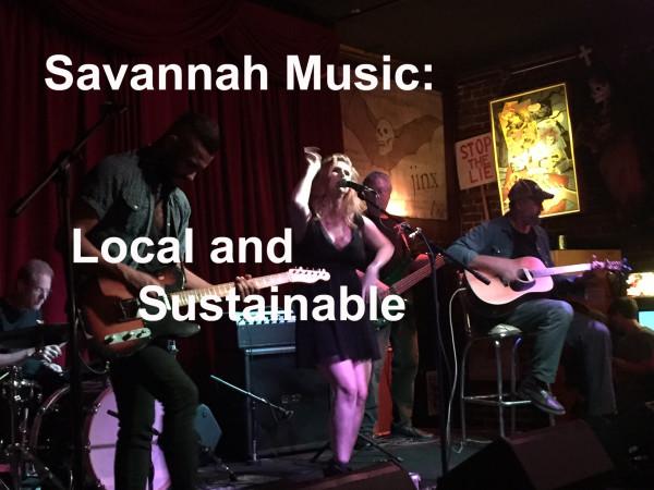 Savannah Music:Local & Sustainable