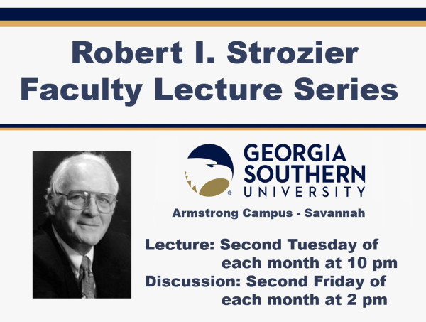 Strozier Lecture Series